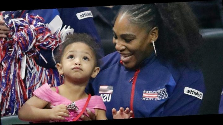 Serena Williams' daughter is starting her tennis career with a new instructor who has no clue who her mom is