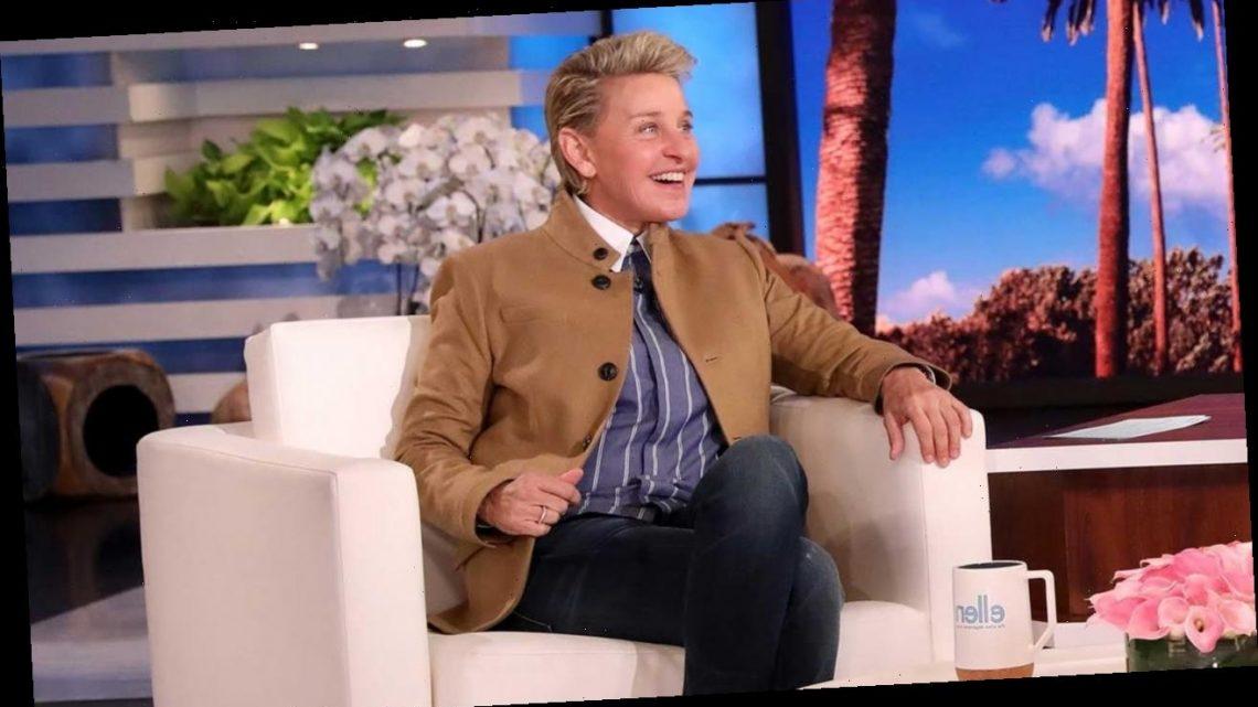 Ellen DeGeneres Debuts New Hairstyle on Her Talk Show
