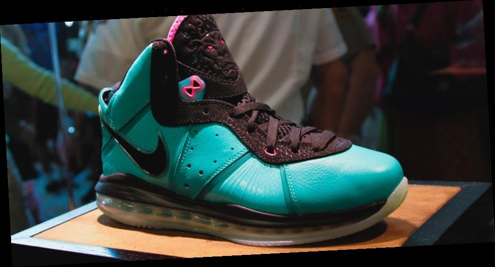 """The Nike LeBron 8 QS """"South Beach"""" Is Now Rumored for a Re-Release"""