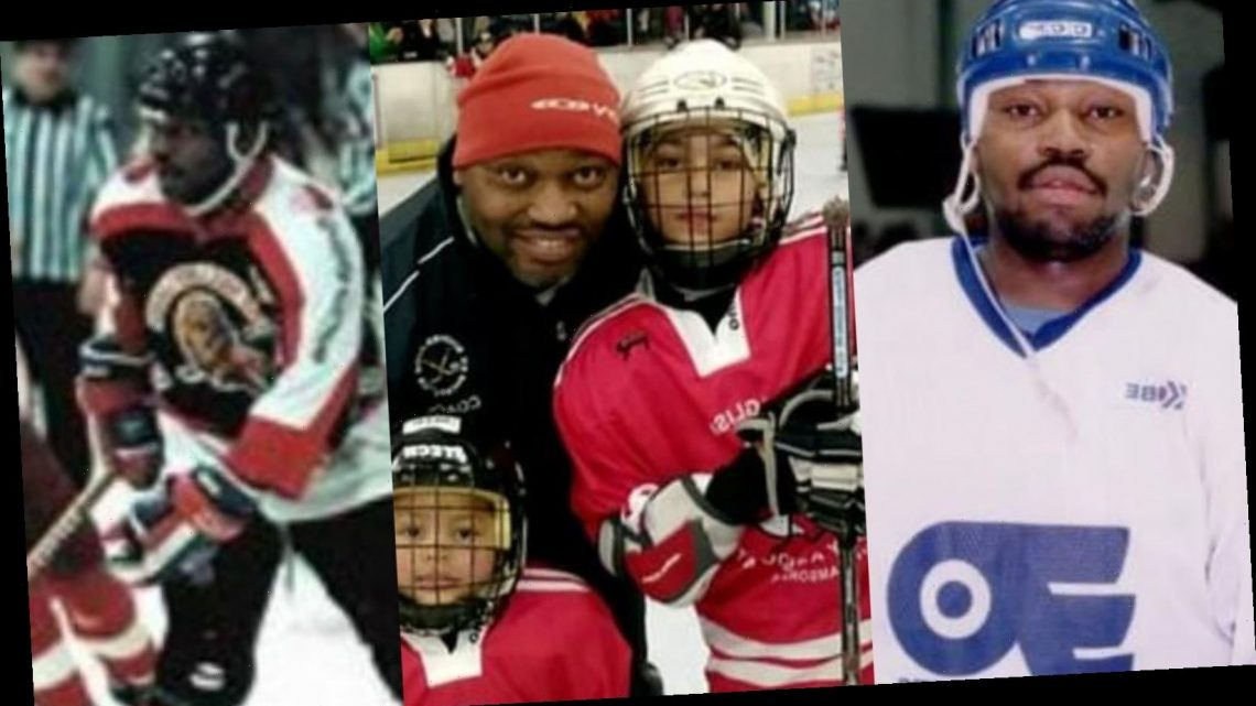 British ice hockey legend Brian Biddulph on inspirations, racism and pride of being black