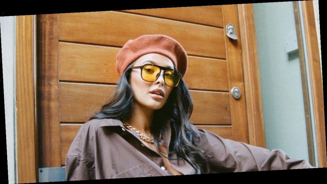 Maya Jama risks racy wardrobe malfunction as she sizzles in unbuttoned minidress