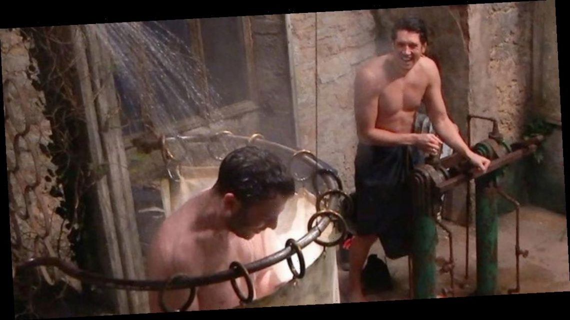 I'm A Celebrity bosses urging campmates to shower regularly to battle Covid-19