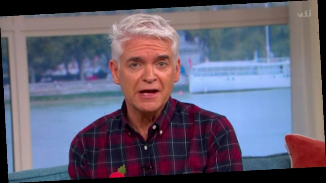 Phillip Schofield says he 'nearly resigned' from This Morning after blunder