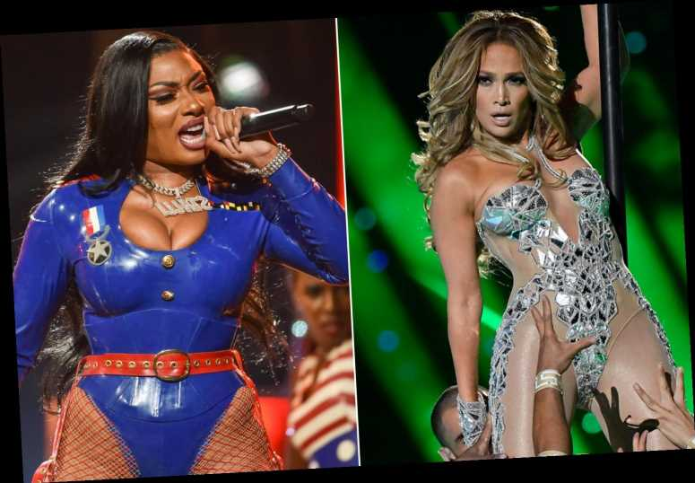 Sexy AMAs 2020 sets from Jennifer Lopez, Megan Thee Stallion are 'freaking out' censors