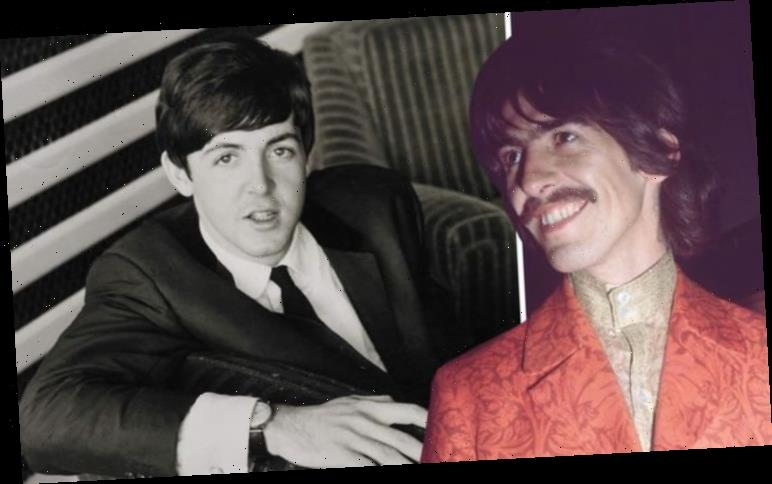 The Beatles: George Harrison URGED fan to 'trash' Paul McCartney's car in hilarious letter