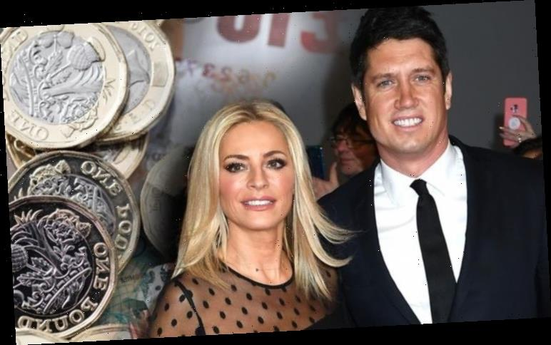 Tess Daly is a breadwinner worth £1million more than her husband Vernon Kay