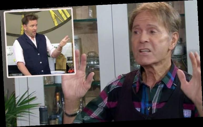 'Where did it all go wrong?' Brilliant moment James Martin pulls apart Sir Cliff Richard