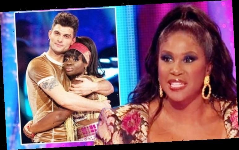 Clara Amfo andAljaz exit Strictly as Motsi Mabuse points out dance-off error