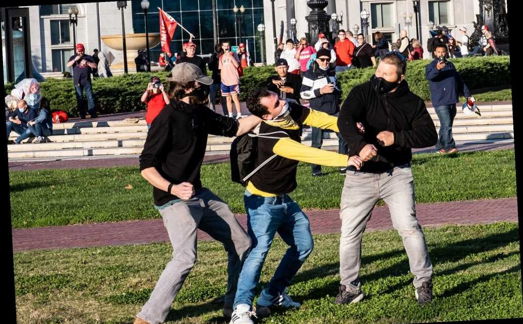Conservatives say media ignoring attacks on Trump supporters at DC MAGA march