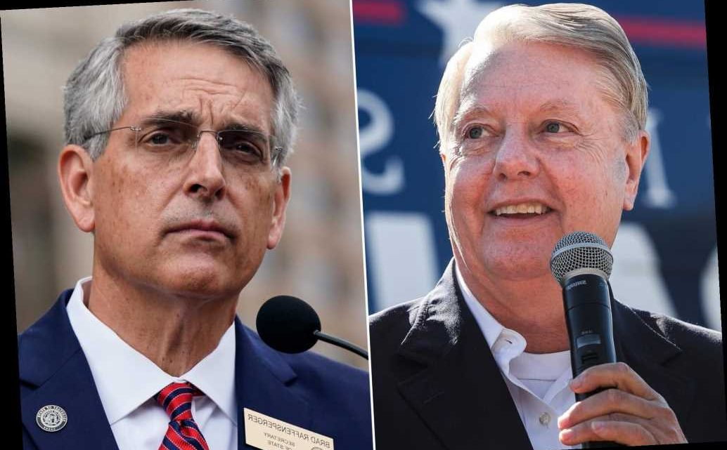 Lindsey Graham denies he pressured Georgia election official to toss ballots