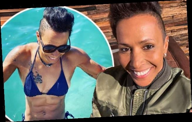 Dame Kelly Holmes reveals she is suffering from coronavirus