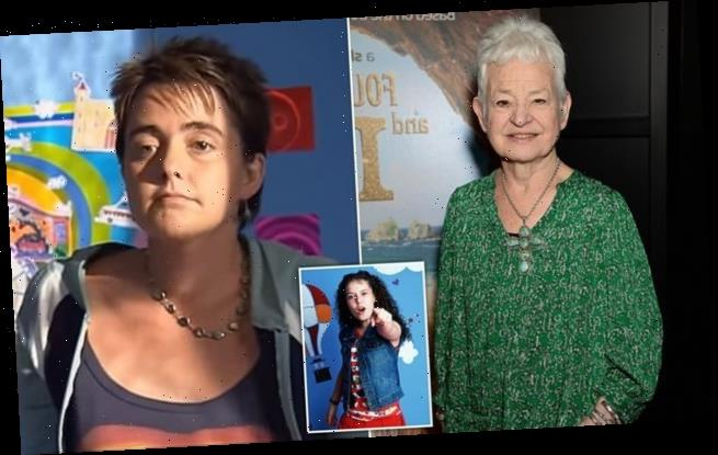 Jacqueline Wilson says Tracy Beaker's foster mum Cam is 'clearly gay'
