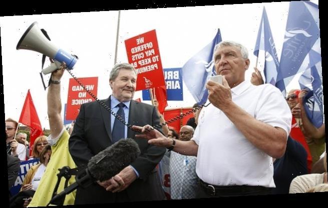 ANDREW PIERCE: Oh lord! Union bigwig U-turns to take peerage