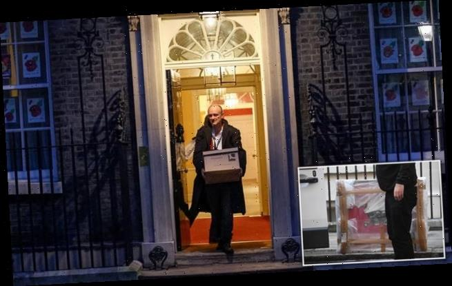 Dominic Cummings quits No10 'with immediate effect'