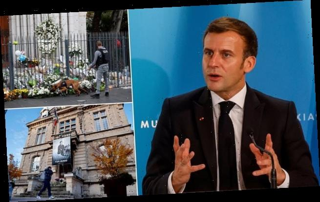 Macron accuses foreign media of legitimising terror attacks in France