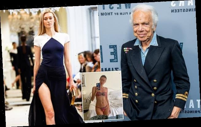 Russian supermodel files $20million lawsuit against Ralph Lauren