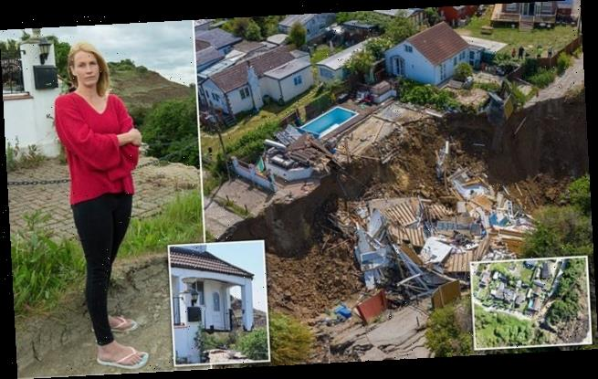 Mother, 43, whose home fell off a cliff slams council for lack of help