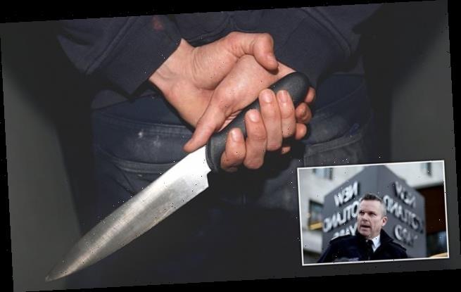 Police take 10,000 blades off streets in knife-crime crackdown