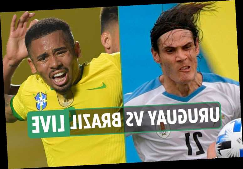 Uruguay vs Brazil LIVE: Stream, TV channel, teams and kick-off time – World Cup qualifying latest as Suarez misses out – The Sun