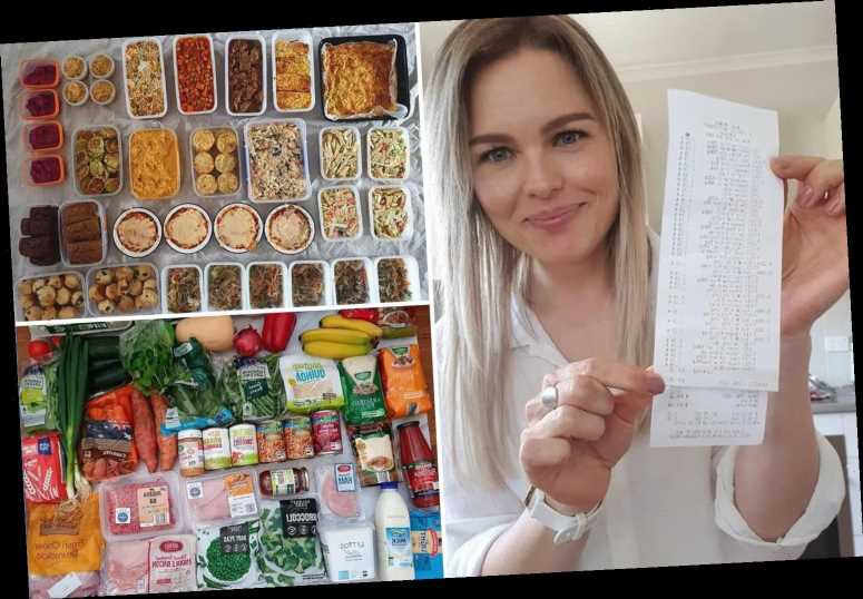 Mum who makes 95 healthy meals for just 65p each with Aldi buys shares her money-saving shopping hacks