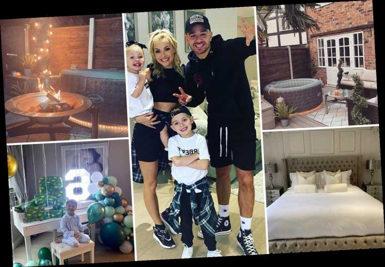 Inside Adam Thomas' home he bought with I'm A Celebrity cash with baby grand piano and hot tub
