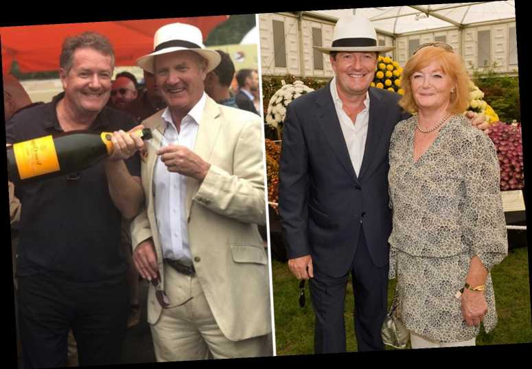 Piers Morgan reveals it's been a 'scary time' for his family as his parents battle Covid and its 'psychological trauma'