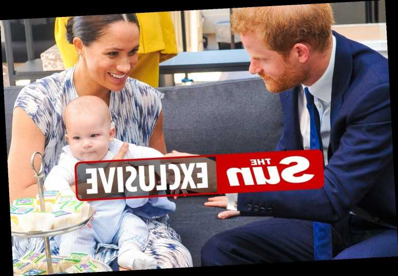 Meghan Markle & Prince Harry show the Queen how much baby Archie has grown on sweet Zoom chats, claims biographer