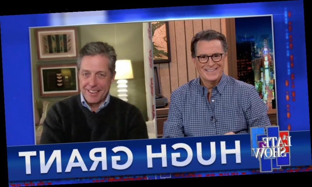 Hugh Grant on having coronavirus: 'I started sniffing in garbage cans'