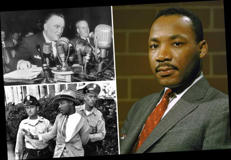 """How the FBI 'spied on Martin Luther King and tried to drive him to SUICIDE in a """"racist panic"""" over civil rights icon'"""