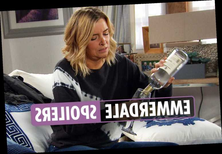 Emmerdale spoilers: Charity Dingle hits the booze after Vanessa Woodfield dumps her and takes back son Johnny