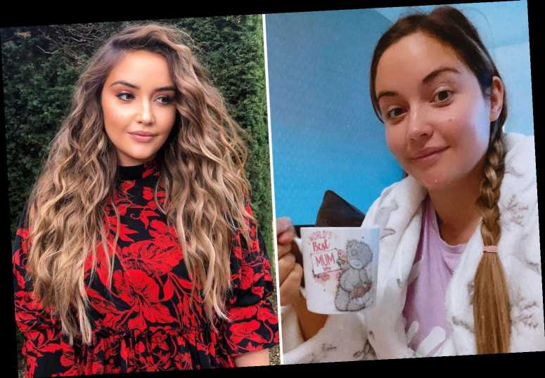 Jacqueline Jossa's huge new hair wows fans in glamorous snap