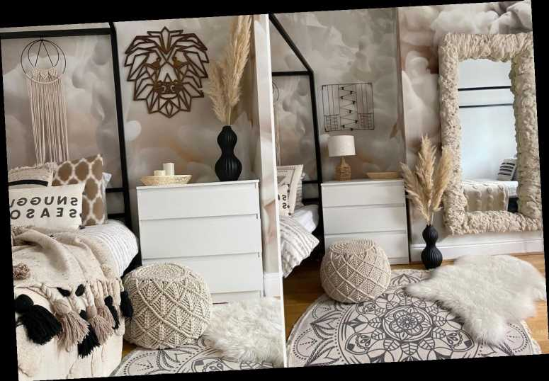 Mum creates Ibiza-style boho bedroom for her daughter using cheap buys from B&M, Home Bargains and Argos – The Sun