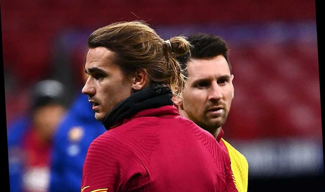 Messi told Griezmann the Frenchman's first Barcelona snub 'screwed' him after the Argentine publicly supported transfer