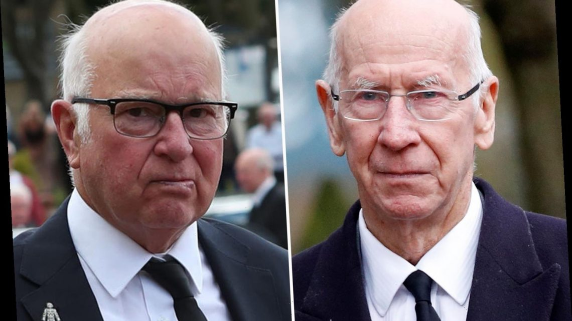 Sir Bobby Charlton's brother Tommy reveals tearful conversation with Man Utd legend as he opens up on his dementia fight
