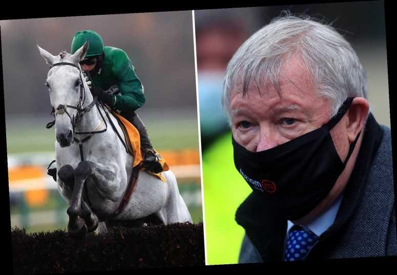 Bristol De Mai wins THIRD Betfair Chase after seeing off Sir Alex Ferguson's horse Clan Des Obeaux at Haydock