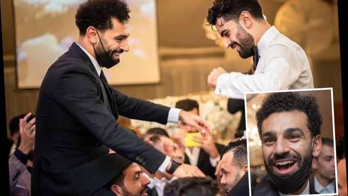 Mo Salah tests positive for coronavirus just days after Liverpool star attended brother Nasr's wedding in Egypt