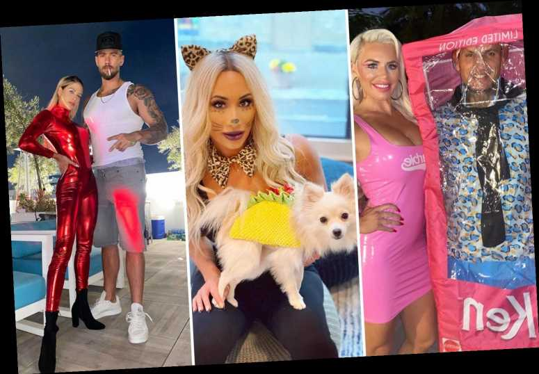 WWE stars dress up in sexy Halloween costumes from Barbie Doll to Kelly Kelly as Britney Spears