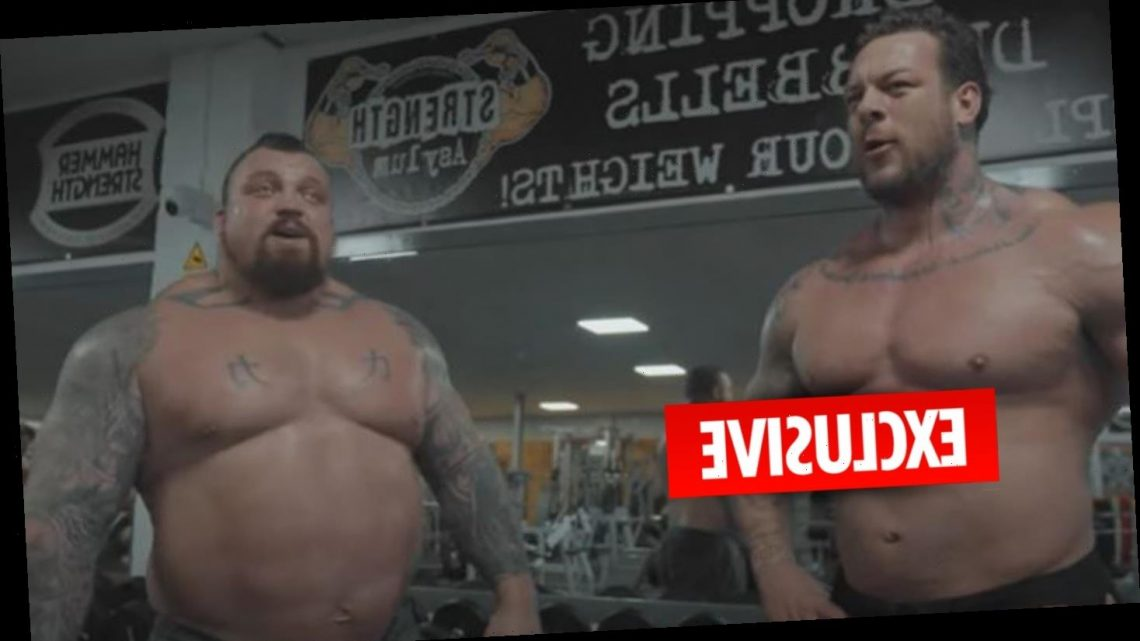 Eddie Hall backed to beat Games of Thrones' 'gentle giant' Thor by bodybuilder Jamie 'The Giant' Christian-Johal