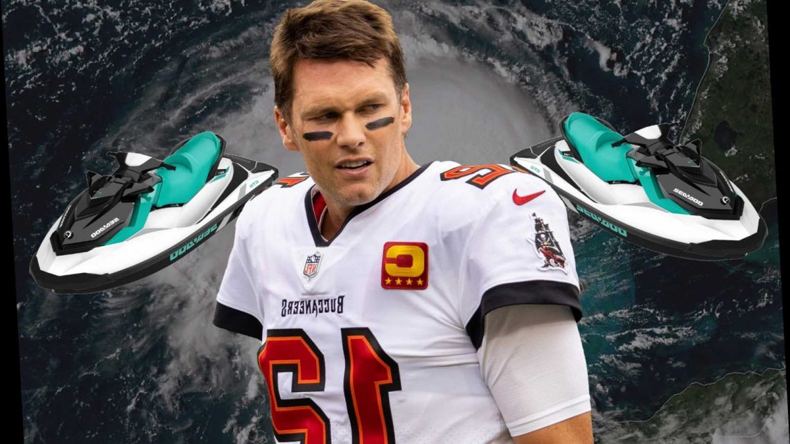Tom Brady had a 'surreal' experience with Tropical Storm Eta
