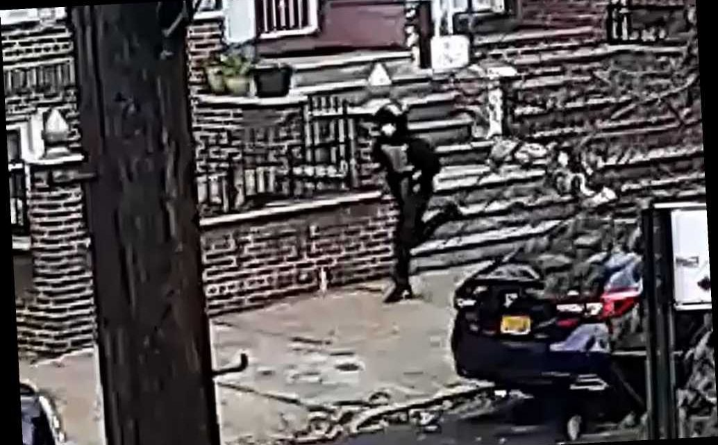 NYPD releases surveillance video of suspect in Bronx shooting that grazed teen