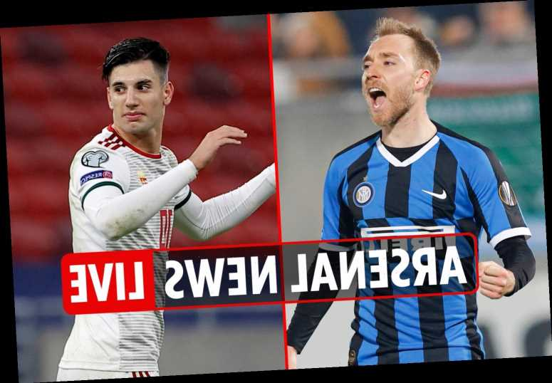 3pm Arsenal transfer news LIVE: Christian Eriksen for Xhaka swap deal, Szoboszlai BOOST, Moller impresses in training