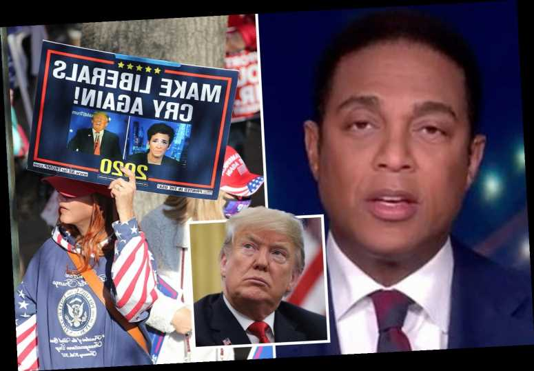 CNN's Don Lemon says Americans who believe Trump's election fraud 'lies' are being 'played for suckers'