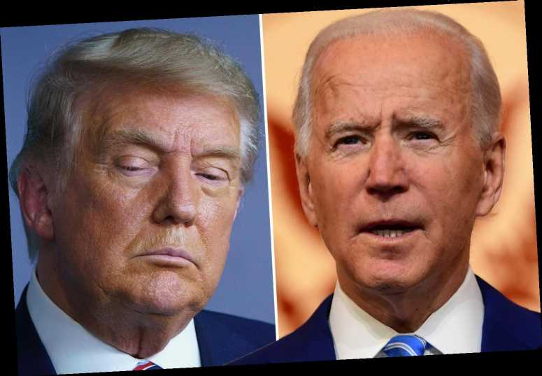 Joe Biden will receive first presidential briefing TODAY despite Trump still saying election was 'RIGGED'