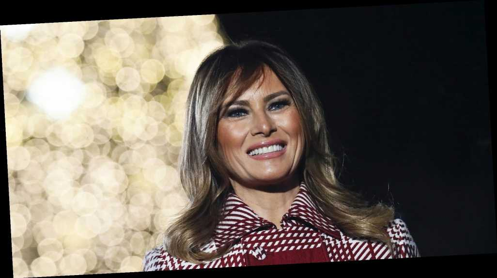 Melania Trump Reportedly Plans to Decorate the White House for Christmas One Last Time