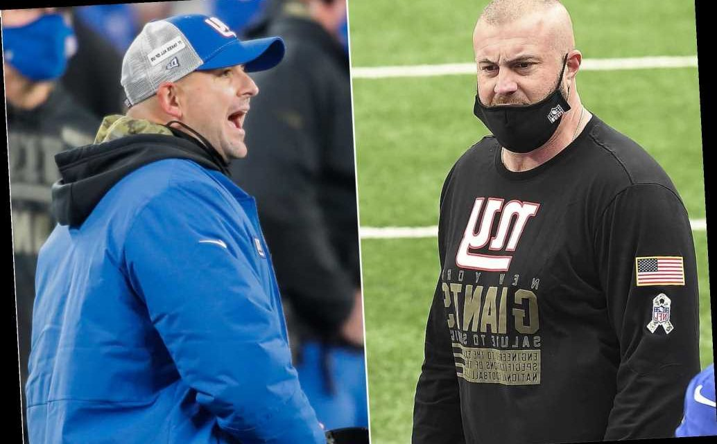 Joe Judge, Marc Colombo feuded for weeks over Giants strategy before firing