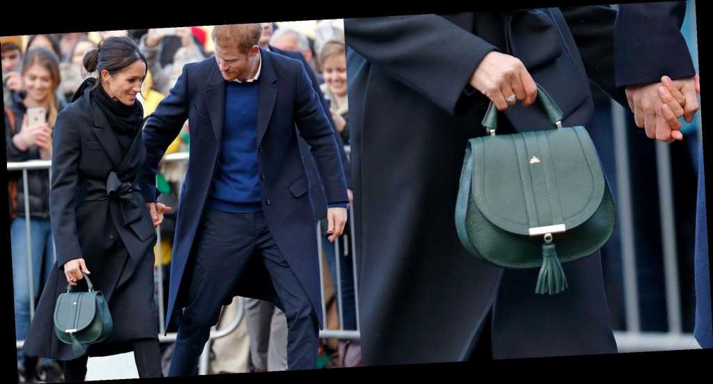 Not to Alarm You, But Meghan Markle's Gorgeous Green DeMellier London Handbag Is On Sale for Black Friday