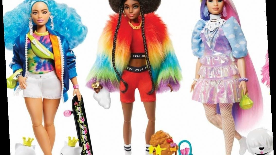 """Barbie's New Dolls Are So """"Extra""""—and Perfect for Holiday Gifts"""