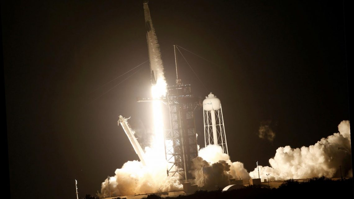 Four NASA astronauts launched into orbit aboard SpaceX rocket