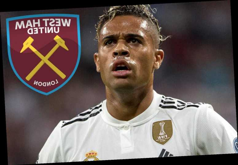 West Ham offered Real Madrid striker Mariano on loan transfer after Zidane gives green light to exit