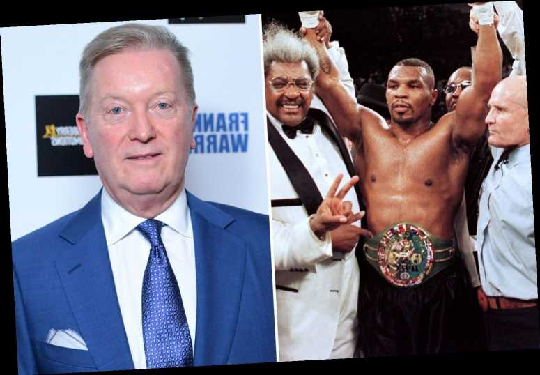 Frank Warren refuses to put Mike Tyson in all-time top 10 heavyweight fighters because he was 'drugging it and boozing'